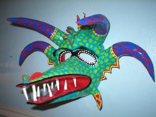 horns ponce don rimx style mural mask